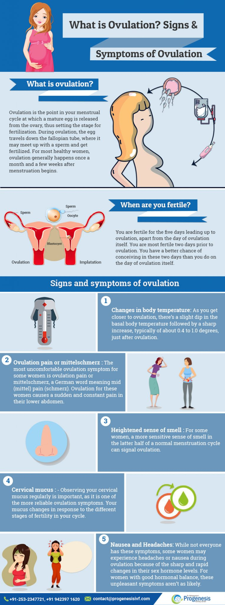 What is ovulation? Signs and Symptoms of Ovulation