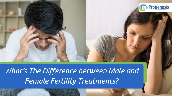 What's The Difference between Male and Female Fertility Treatments_